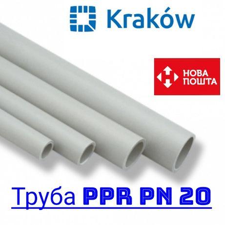 Труба PP-R под пайку, холодная горячая вода, отопление. Фитинги