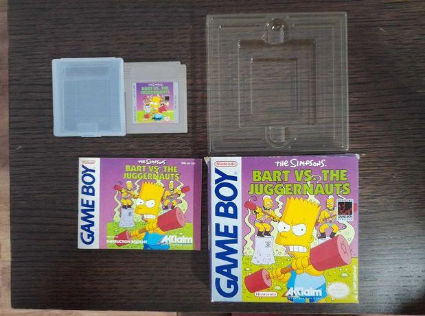Game Boy The Simpsons Bart vs the Juggernauts