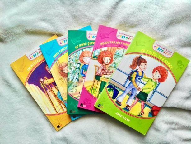 """Zestaw książek dla dzieci """"Zdumiewające Przygody"""" Abby Hayes"""