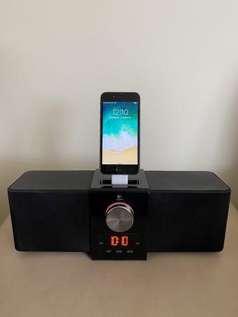 Колонка Зарядна Станція Iphone Ipod Logitech Pure Fi Express Plus
