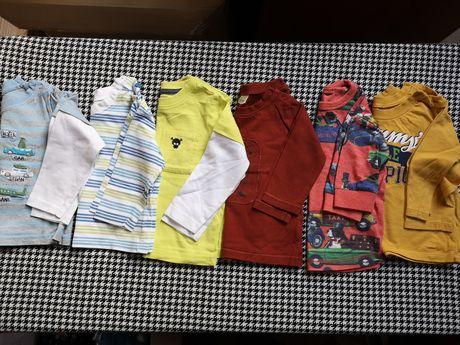 Bluzeczki chłopięce 74