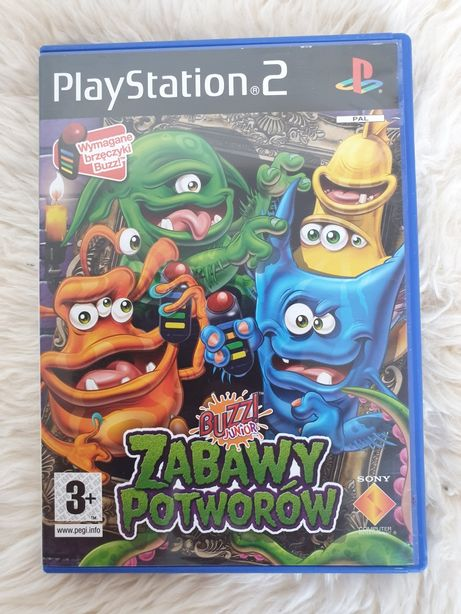 BUZZ! Zabawy potworów Gra PS2 Łódź Śródmieście Playstation