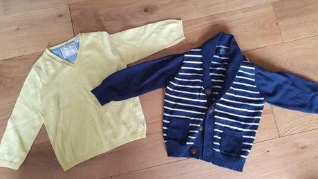 Sweterki sweterek dla chłopca 86 Zara i mini Rebel