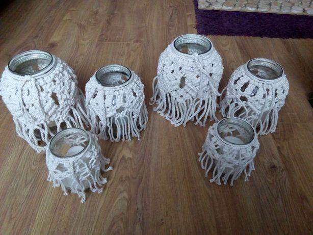 Słoiki lampiony