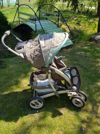 Wózek spacerowy Graco zestaw ocieplacz zimowy, folia przeciwdeszczowa