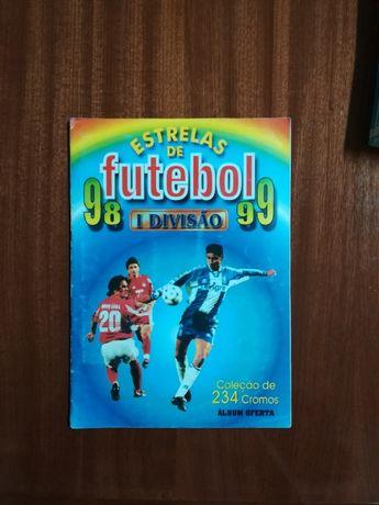 Estrelas de futebol 98/99 - Cromos -colecção