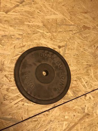 Obciążenie żeliwne 10kg