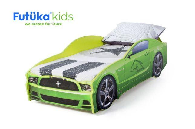 Кроватка машинка Mustang в ЦВЕТ ДИВАНОВ-6410р