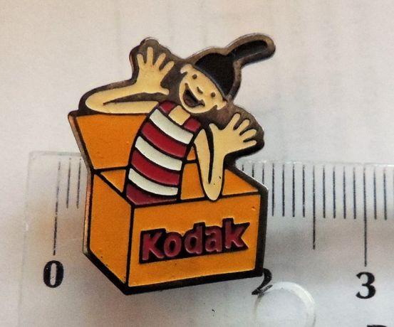 Kodak fotografia optyka odznaka sygnowana