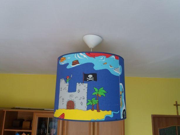 żyrandol dziecięcy motyw morski piraci