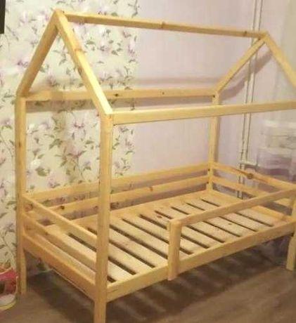 Ліжко будиночок дитяче ламелі в комплекті 160x80 cm Нота плюс