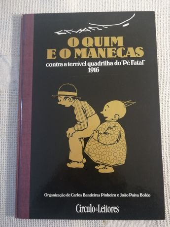 O Quim e o Manecas Stuart Carvalhais 1997 Círculo Leitores