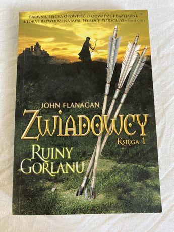 John Flanagan zwiadowcy ksiega 1 ruiny Gorlanu