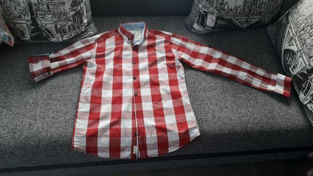 Мужская рубашка М чоловіча сорочка модна стильна 100 коттон