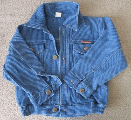 Dżinsowa bluza sztruksowa 100% bawełny - rozm. M