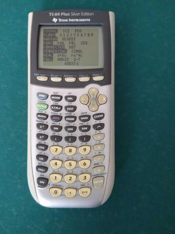 Calculadora Gráfica Texas Instruments TI-84 Plus Silver Edition