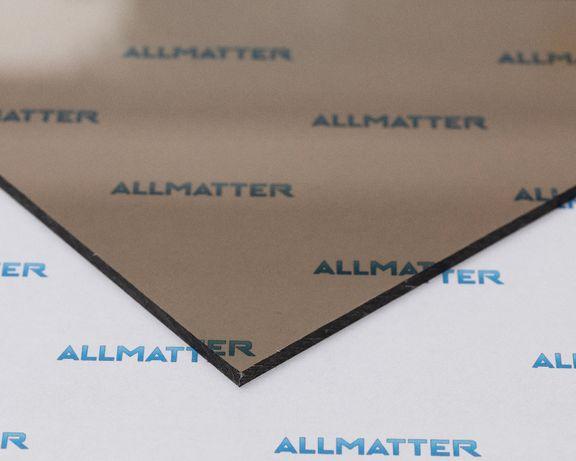 Poliwęglan lity dymiony brąz duże płyty 2,05x6,1m - zadaszenia