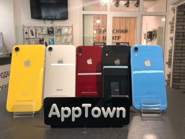 IPhone XR Black/Red/Blue/Coral 256GB/128GB/64GB/Neverlock + Гарантия