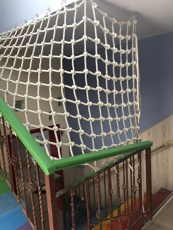 Веревочная сетка для лазания, канатная сетка гладиаторская, пол сетка