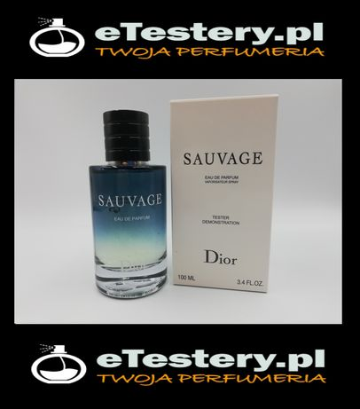 Perfumy DIOR Sauvage 100ml Tester hit okazja WYSYŁKA
