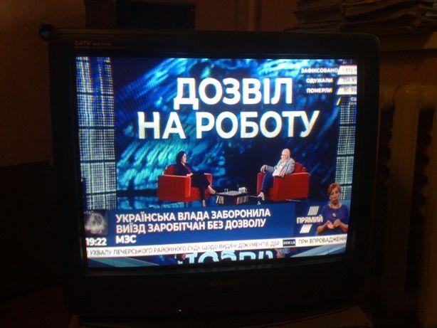 Телевизор SHARP 21H-SC с пультом
