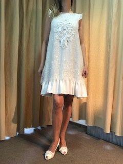 Suknia ślubna NOWA krótka Sposa 3734 r.38 ślub cywilny