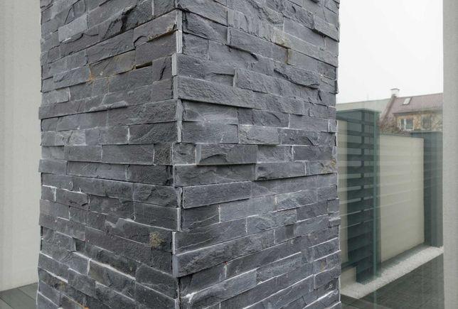 Kamień DEKORACYJNY Elewacyjny ŁUPEK Naturalny Kamień na ścianę OZDOBNY