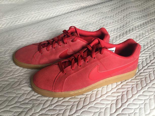 Czerwone buty męskie Nike court royale suede 45,5 nieużywane