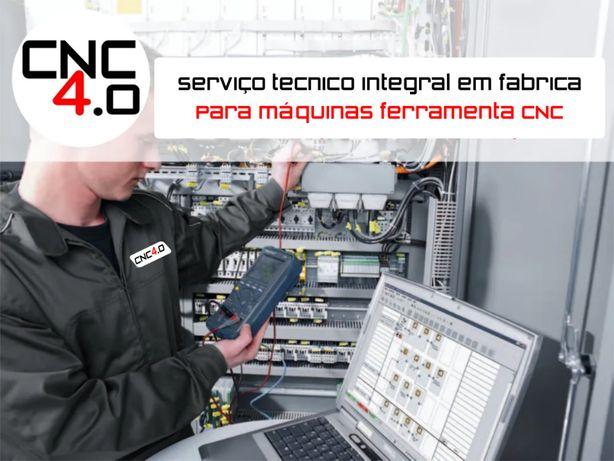Serviço de assistência técnica para máquinas CNC