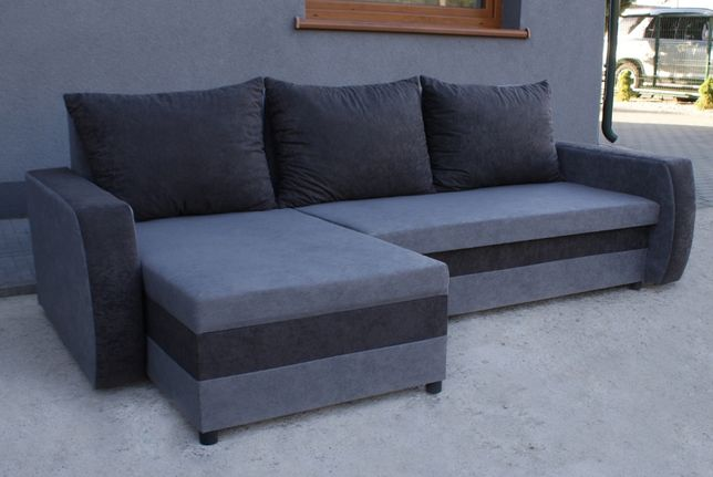 Narożnik z funkcją spania Saturn Kanapa Sofa rogówka