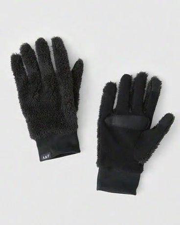 Rękawice, rękawiczki Abercrombie & Fitch S/M wyprzedaż