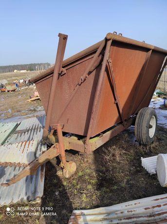 Przyczepa wywrot 3.5 tony przeładowcze