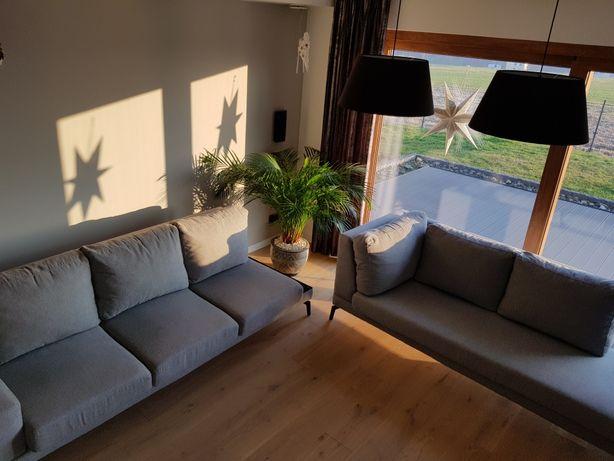 Komplet wypoczynkowy (sofa 3 i szezlong) TRANSPORT GRATIS