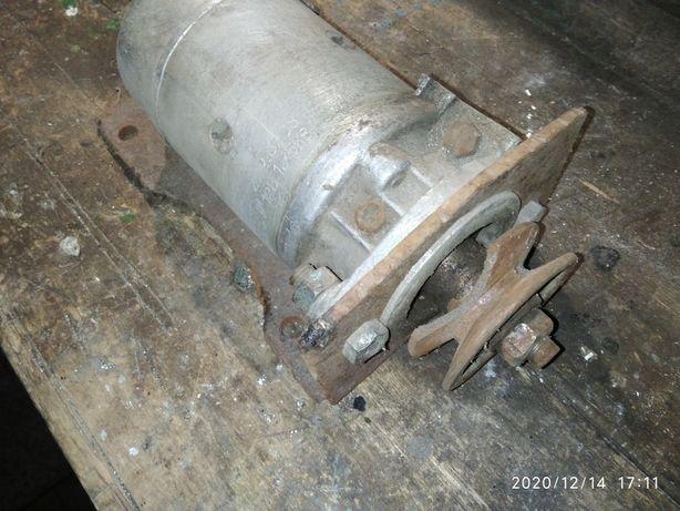 Стартер газ 53 переделаный под двигатель со шкивом
