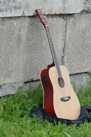 Видео!!! Трансакустическая гитара на базе Parksons JB-4111NAT