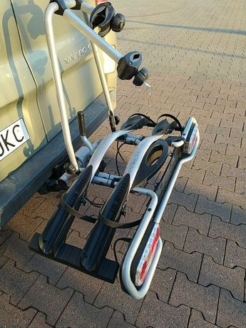 Bagażnik Platforma Thule uchwyt na dwa 2 rowery, uchylny