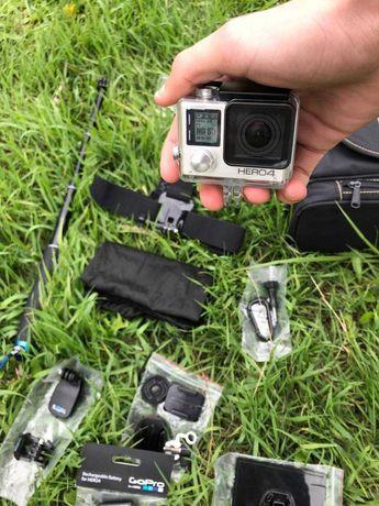 Экшен камера GoPro 4 Silver