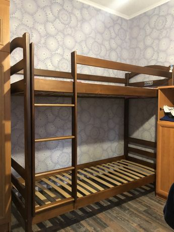 Детская 2х этажная кровать