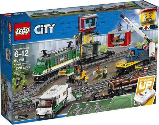 Lego City 60198 Товарный поезд на радиоуправлении