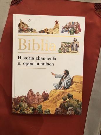 Biblia dla dzieci + inne książki (albumy) piękne + gry + gratis