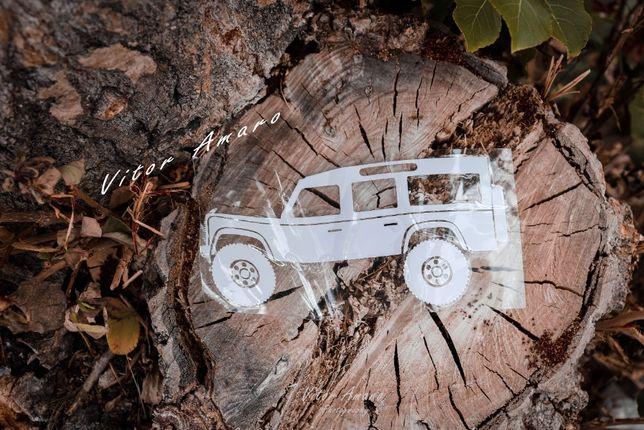 Autocolante para Carro Land Rover Defender Nº1|NOVO