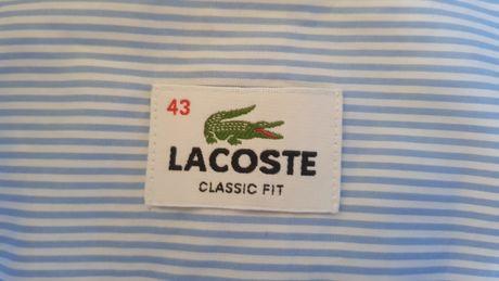 Рубашка мужская Lacoste (Франция) , оригинал