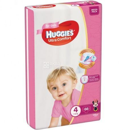 Подгузники Huggies Ultra comfort 4