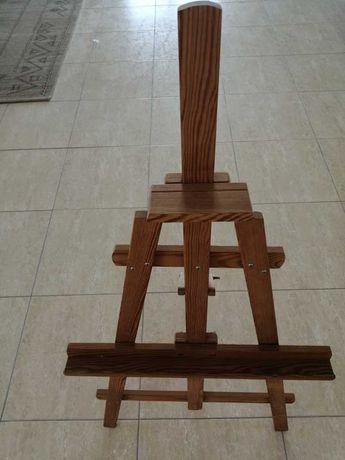 Cavalete em madeira para pintura
