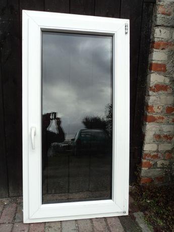 Okna pcv używane -sz75x130wys- rozw.uchylne - 7szt