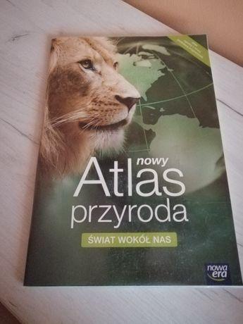 """Nowy Atlas przyroda """"Świat wokół nas"""" - nowa era"""