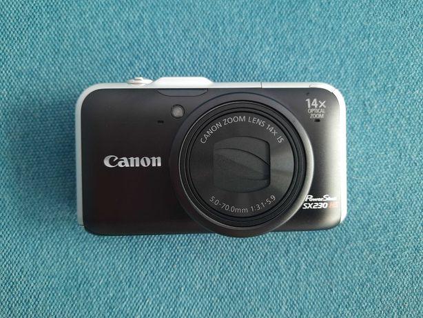 Aparat Canon PowerShot SX230 HS NOWY