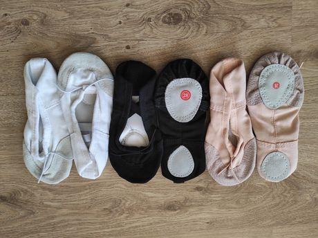 Чешки текстильные для танцев и гимнастики 28-31 размер