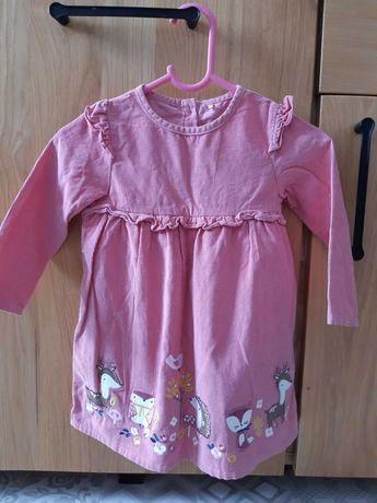 Sukienka dziewczęca  80 87