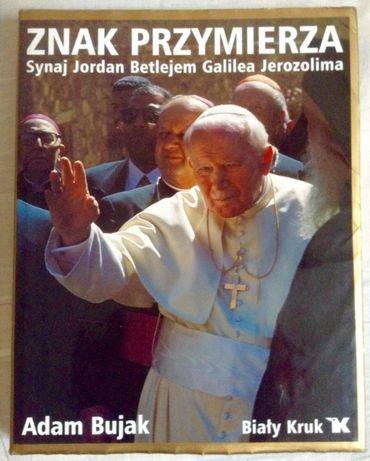 Album fotograficzny Adam Bujak Znaki przymierza Jan Paweł II